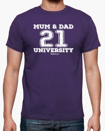 Camiseta MUM & DAD 21 UNIVERSITY