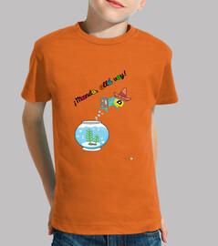 Camiseta ¡Mundo, allá voy!