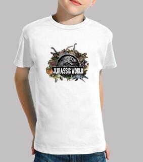 Camiseta Mundo Jurásico para Niños