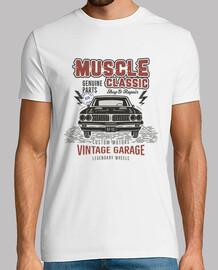 Camiseta Muscle Car Vintage Retro