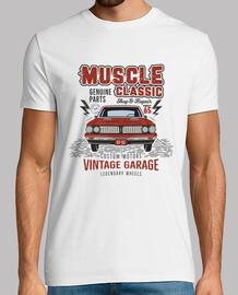 Camiseta Muscle Car Vintage Retro 1965
