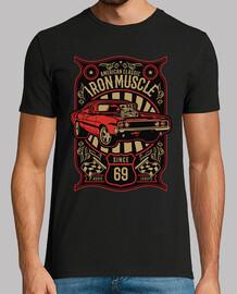 Camiseta Muscle Car Vintage Retro Americanos