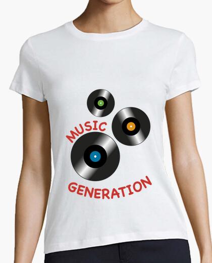 Camiseta Music Generation