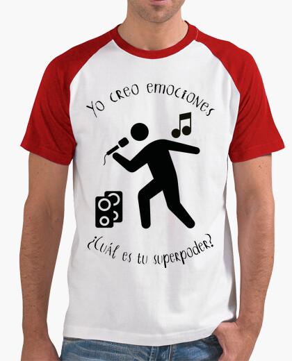 Camiseta Músico - Cantante