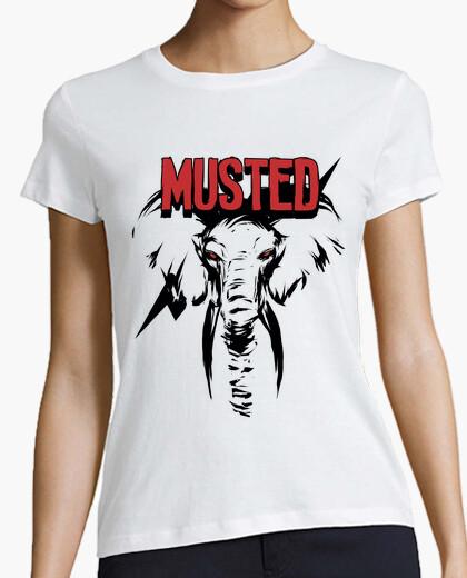 Camiseta Musted rayo