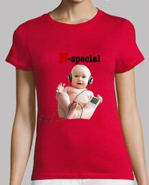 Camiseta N-special Chica Amarillo