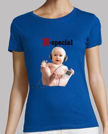 Camiseta N-special Chica Azul clarito!