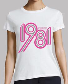 Camiseta naci en 1981