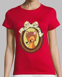 Camiseta naranja Cervatillo