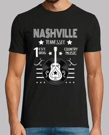 Camiseta Nashville American Country Music USA