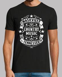 Camiseta Nashville Tennessee Country Music USA