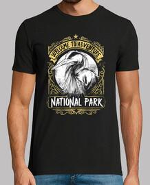 Camiseta National Park Estilo Vintage Retro