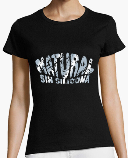 Camiseta Natural sin silicona (metalizado)