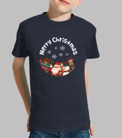 Camiseta Navideña - Feliz Navidad - Merry Christmas