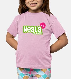 Camiseta Neala de Nadur Niño, manga corta, rosa