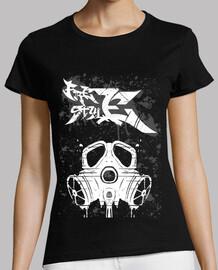 Camiseta negra Mujer - Freestyle