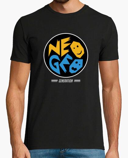 Camiseta NeoGeo Generation - Circulo