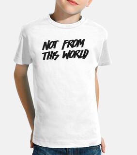 Camiseta NFTW blanca niño