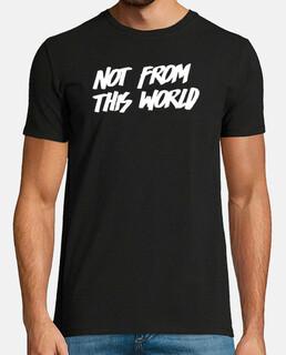 Camiseta NFTW negra hombre