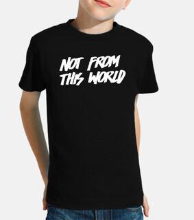 Camiseta NFTW negra niño