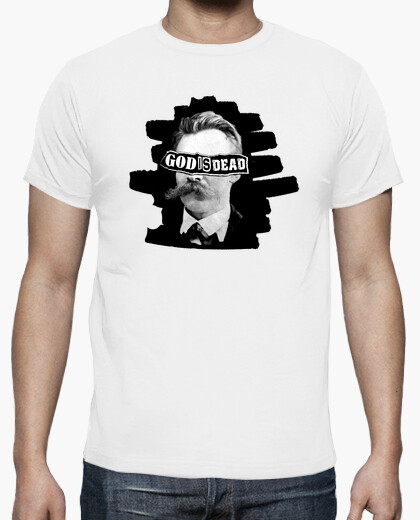 Camiseta Nietzsche - God is dead
