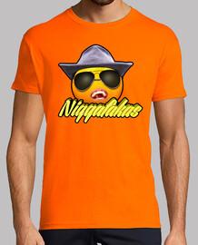 Camiseta Niggafakas - Mandarina Nigga