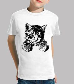 Camiseta Niñ@ Gato 4