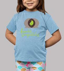 Camiseta niñ@ Huertos Compartidos