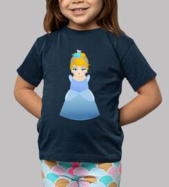 Camiseta niñ@ Kokeshi Cenicienta