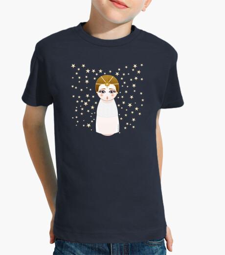 Ropa infantil Camiseta niñ@ Kokeshi Emperatriz infantil (La historia