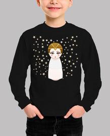 Camiseta niñ@ Kokeshi Emperatriz infantil (La historia