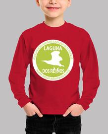 Camiseta niñ@ logo verde y blanco