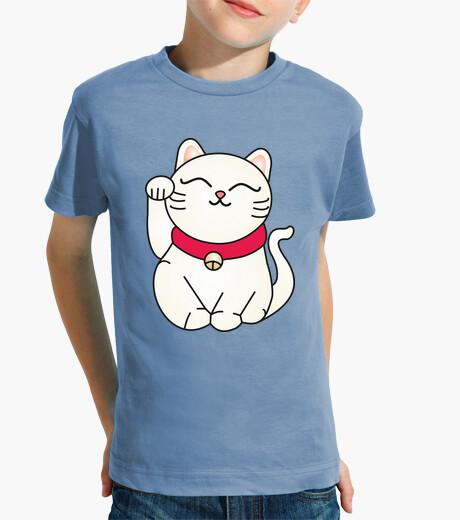 Ropa infantil Camiseta niñ@ Maneki neko