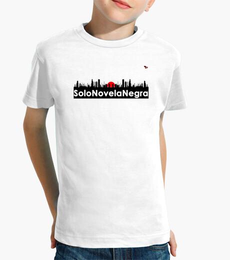 Ropa infantil Camiseta niñ@ Solo Novela Negra