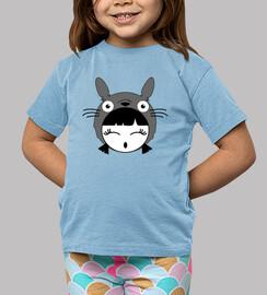 Camiseta niñ@ Totoro girl