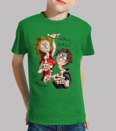 Camiseta niñ@ verde