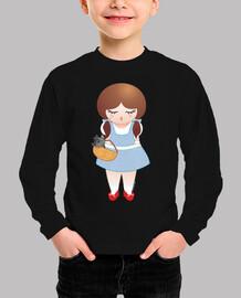 Camiseta niña Dorothy Doll (El mago de Oz)