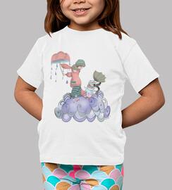 Camiseta niña La tormenta