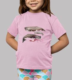 Camiseta niña niño Cachalotes