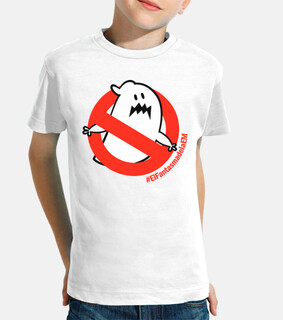 Camiseta niña niño El Fantasma de la EM