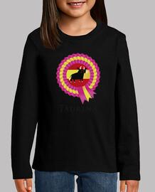 Camiseta niña Soy Taurina - Toro