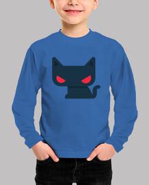 Camiseta niño-a Gato - varios colores y tallas