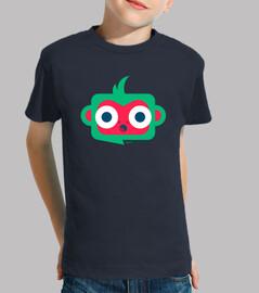 Camiseta niño-a Mono - varios colores y tallas