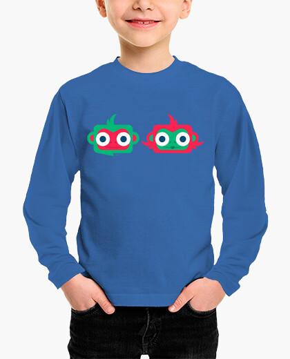 Ropa infantil Camiseta niño-a Muy monos - varios colores y tallas