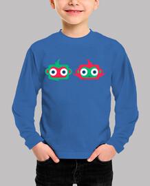 Camiseta niño-a Muy monos - varios colores y tallas