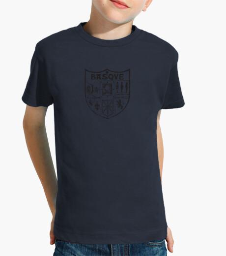 Ropa infantil Camiseta niño-basque negro