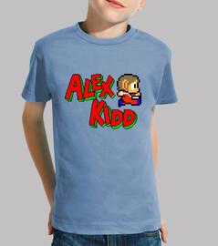 camiseta niño alex kidd