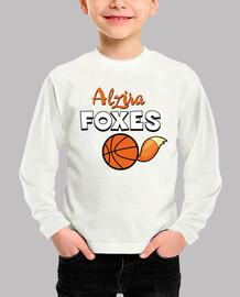Camiseta niño Alzira Foxes