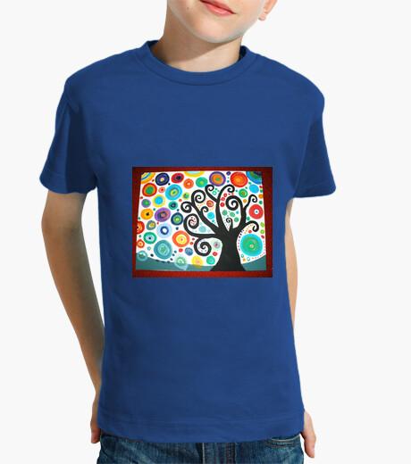 Ropa infantil Camiseta niño Arbol de la vida3