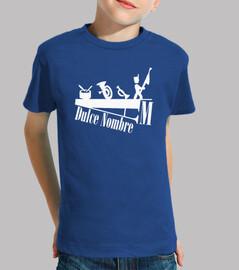 Camiseta Niño Azul AMDN